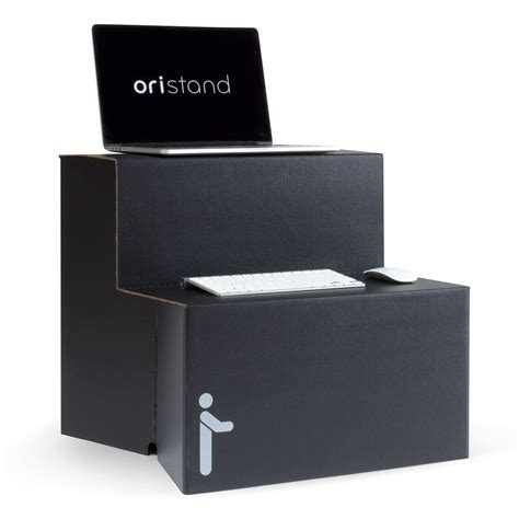 8 oristand standing desk converter portable stand up