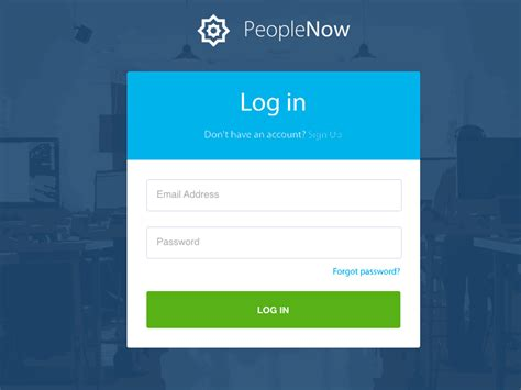 layout login devise showcasing ui interaction design with animated gifs