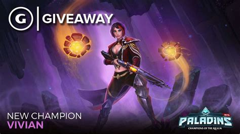 Paladins Giveaway Codes - paladins new chion vivian code giveaway pc ps4 xbox street level pundit