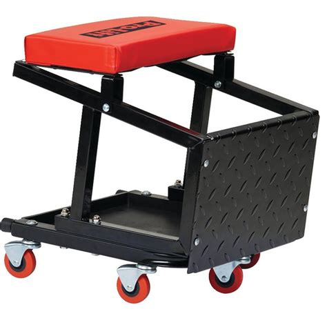 Ersand Airlift Stool by Pro Lift Shop Seat And Step Stool Gempler S