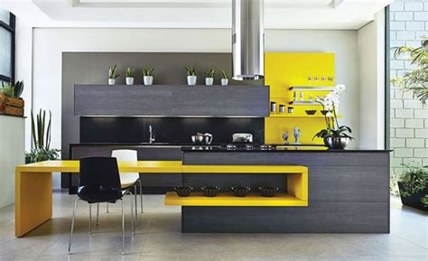 Kitchen Island Kit by 12 Cozinhas Amarelas Pra Quem Gosta De Fugir Do
