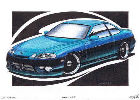 Toyota Sc Toyota Soarer Vs Lexus Sc300