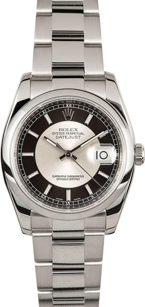 Rolex Skeleton Rantai Silver Black rolex datejust 116200 silver and black