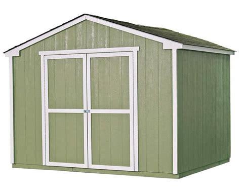wood shed kits handy home products sheds wood storage shed kits