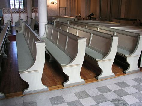 bench in a church pew wikipedia