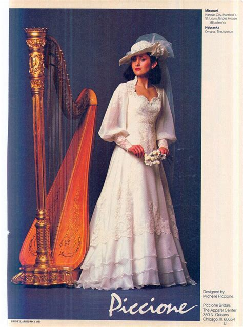 Wedding Dress Magazines by 343 Best Images About 1980 S Wedding Dress On