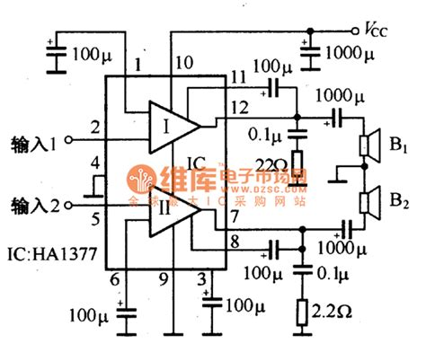what is the application of integrated circuit integrated power lifer application reference circuit lifier circuit circuit diagram