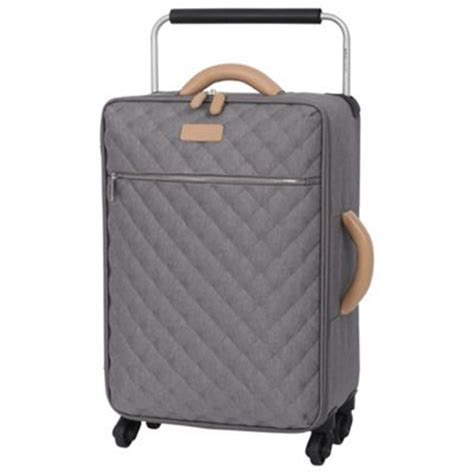 It Quilted Luggage buy it luggage tritex quilted 4 wheel grey cabin from our luggage range tesco