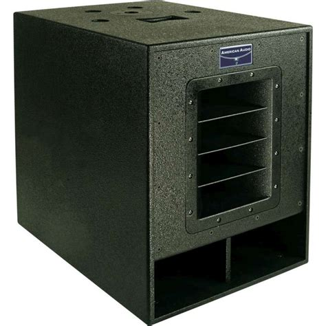 Speaker Subwoofer American 15 Inch american audio pxw15p 15 quot powered subwoofer planet dj