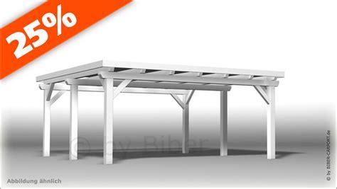 carport fertigbausatz bausatz 5 0 x 5 5m flachdachcarport mit epdm
