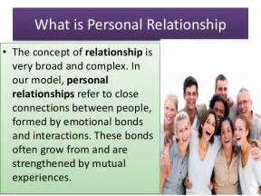 What Is A Relationship Personal Relationship