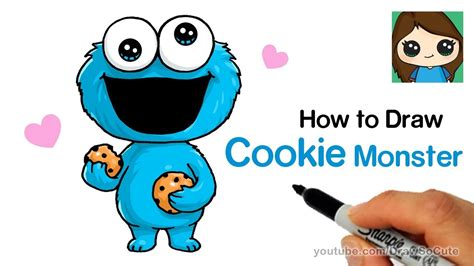 How To Draw Baby Cookie