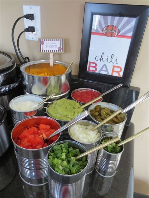 chili toppings bar chili bar lovelies by lo february food friends