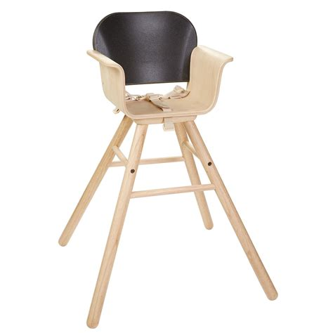 Black High Chair by Plan Toys Black High Chair