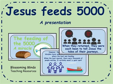 feeds and feeding a book for the student and stockman classic reprint books jesus miracles feeding of the 5000 presentation by