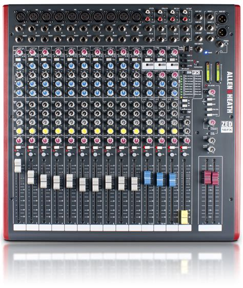 Mixer Allen Heath 24 Channel Bekas zed 16fx allen heath