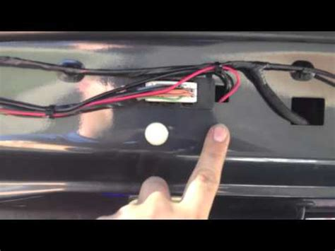 2007 jeep grand cherokee rear view camera youtube