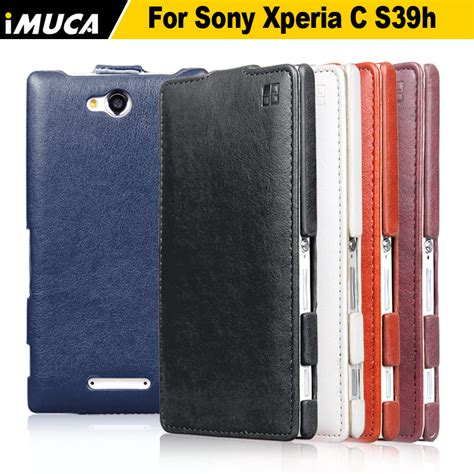 case for sony xperia c2305 high quality vertical flip