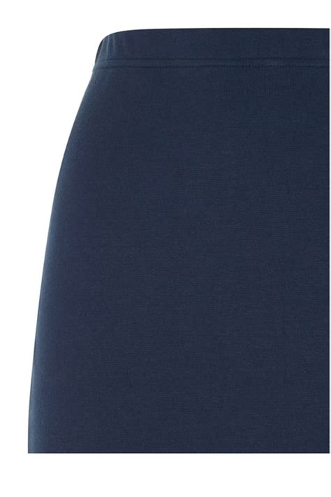 At Magda Navy tree magda pencil skirt in navy