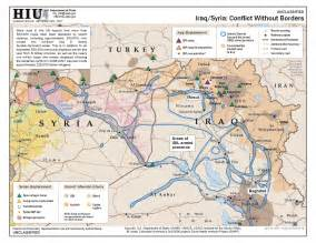 Map Of Syria And Iraq by U S State Department Iraq Syria Conflict Without Borders