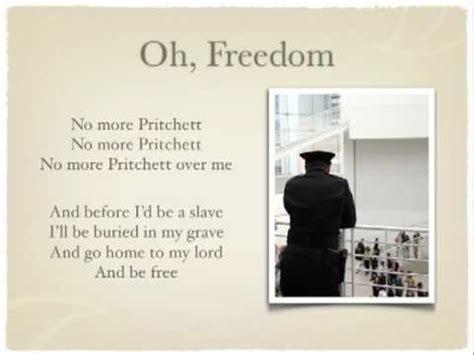 freedom testo oh freedom