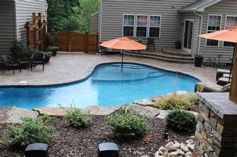 backyard oasis pools and construction home the pool company