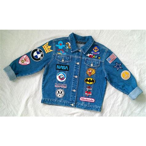 Patched Denim Jacket 15 must see patched denim pins patch patched
