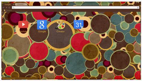 theme chrome vintage vintage circles chrome theme themebeta