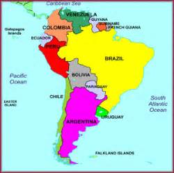 labeled south america map mapa am 233 rica sur mapa am 233 rica do sul south america m
