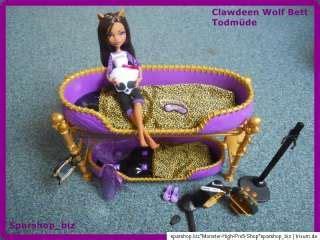 clawdeen wolf bett ooak repaint high clawdeen faun satyr tale