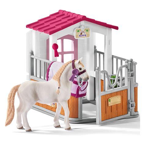 esszimmertisch und stall sets schleich pferdebox mit lusitano stute pferdestall