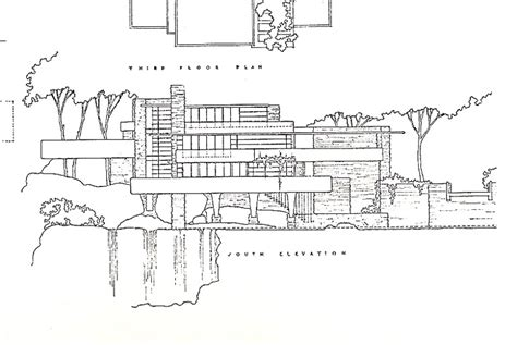falling water house plans falling water house plans and elevations escortsea