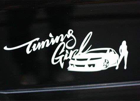 Tuning Girl Aufkleber by Imgs For Gt Jdm Car Stickers For Girls Stickers