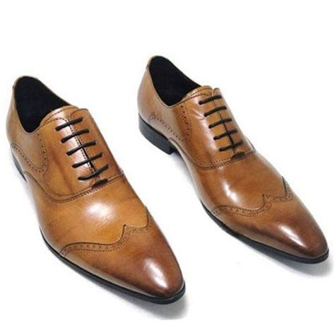 Cabaco Formal Mens Shoe Brown best dress shoes for walking zozeen