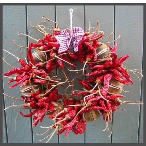 red hot dried chili pepper wreath vivaterra 97 best images about chilli decor on pinterest chilli