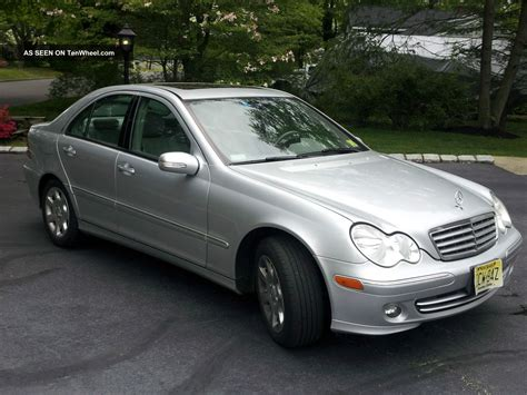 mercedes benz silver 2006 mercedes benz 280c silver w light grey interior