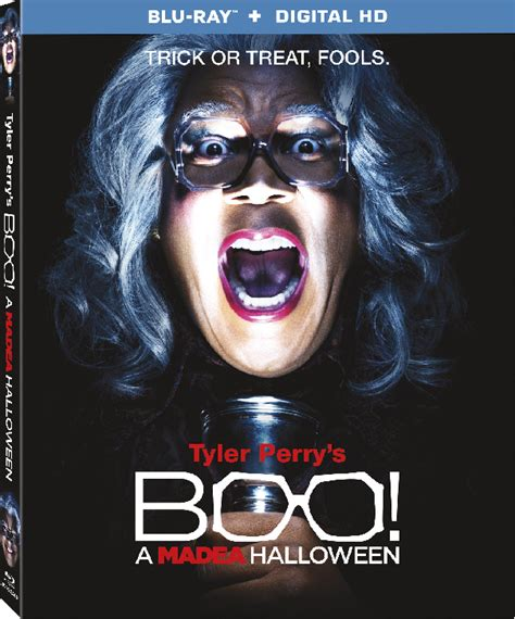 watch movie online megavideo tyler perrys boo 2 a madea halloween by tyler perry tyler perry s boo a madea halloween home entertainment exclusive clip shows the actor
