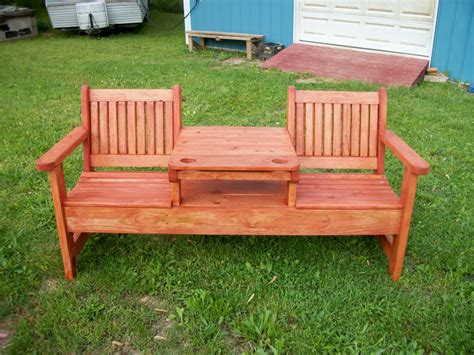wooden garden table and bench set sweet couple set and square table in center part for wood
