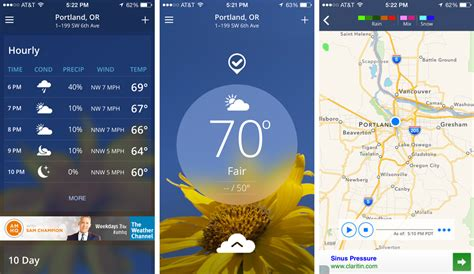the weather channel mobile top 5 weather apps that are handy enough