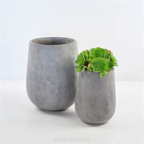 concrete planters brooklyn concrete planter tall outdoor accessories