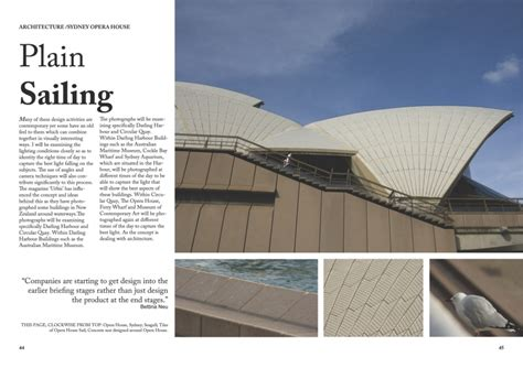architectural designs magazine architectural photography magazine layout design