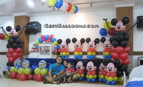 mickey mouse decoration mickey mouse cebu balloons and supplies