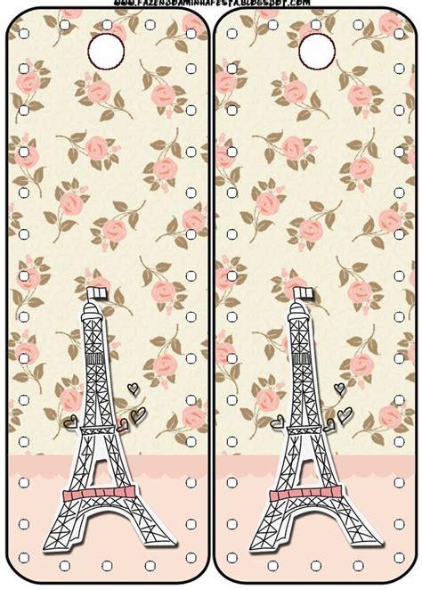 printable paris bookmarks par 237 s con rosas tarjeter 237 a para imprimir gratis ideas