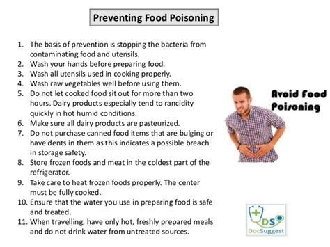 7 Ways To Prevent Food Poisoning by How Poisonous Is Food Poisoning
