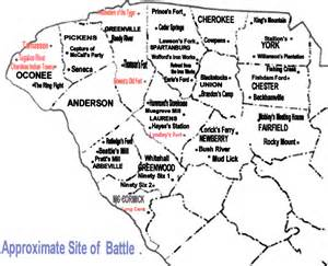 battles in upstate south carolina