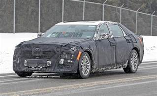 Cadillac Size Sedan Cadillac S New Size Luxury Sedan Spotted