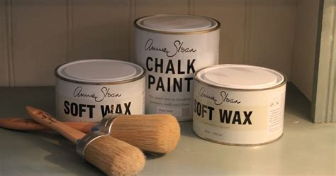 La Vie En Sloan Paint Fabrics Wax Brushes