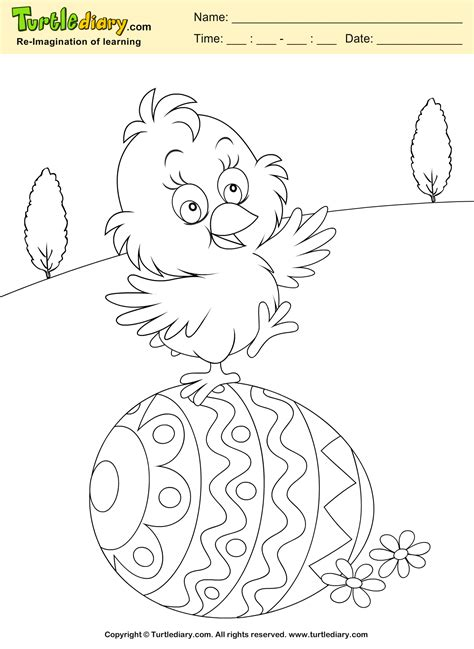 chicken egg coloring page chicken egg coloring page