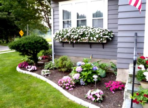 landscaping ideas front yard around house the garden inspirations flower beds on pinterest