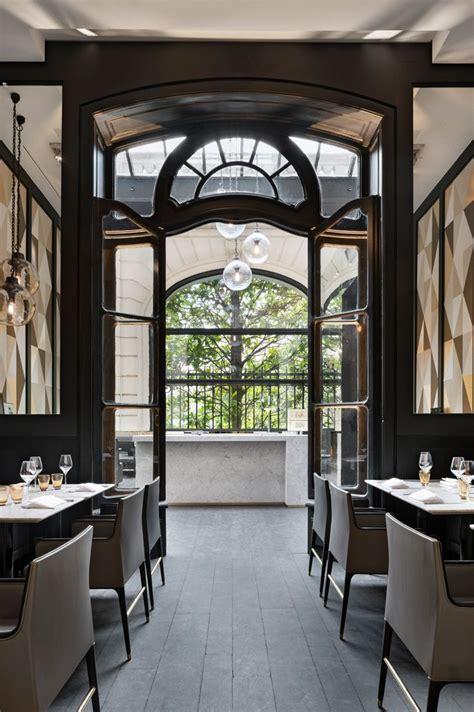 stylish exclusive italian restaurant  classic interior